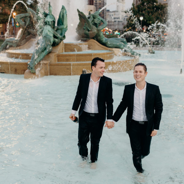 Brett + Joe | Engagement Sesh | Philadelphia, PA