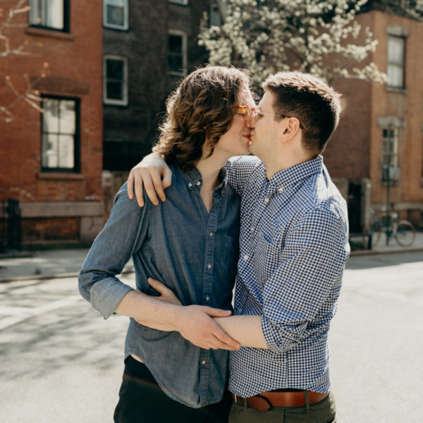 Cameron + Collin | Engagement Shoot | New York City, New York