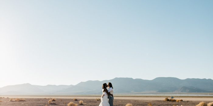 Jewellee + Giannelle | Vegas Wedding