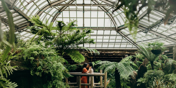 Christina + Kolleen | Engagement Sesh | Morris Arboretum, Philadelphia