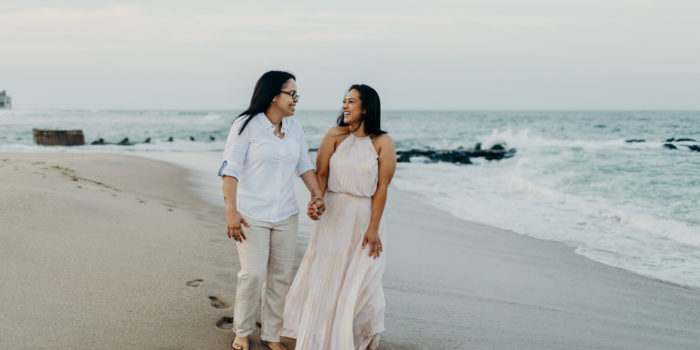 Silvana + Nicole | Engagement Shoot | Asbury Park, NJ