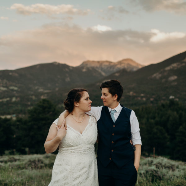 Sherilyn + Jenn | Wedding Day | Estes Park, CO
