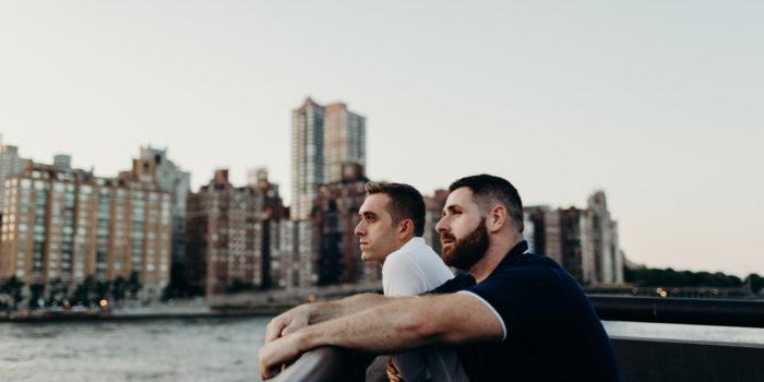 Liam + Dan | Engagement Shoot | Roosevelt Island, NY