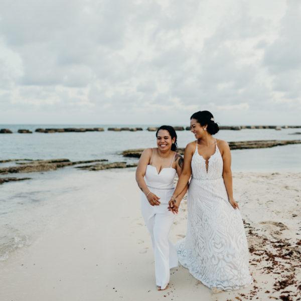 Silvana + Nicole | Wedding Day | Riviera Maya, Mexico