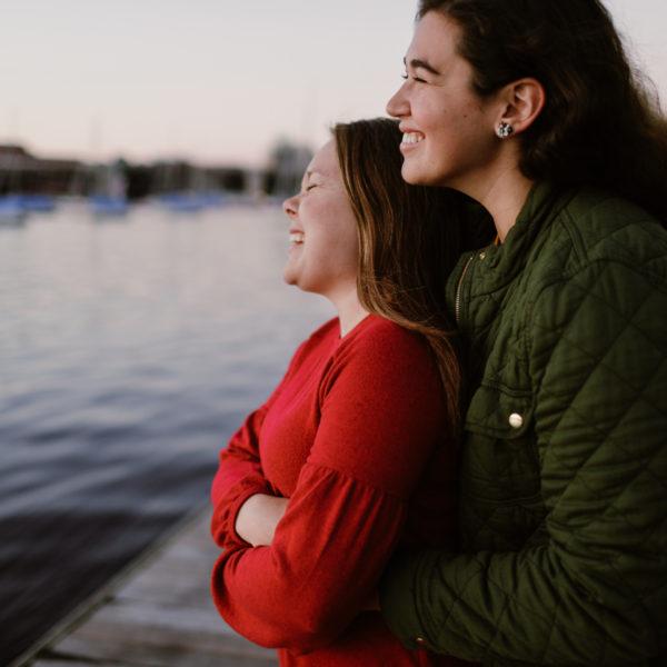 Ginger + Billierae | Engagement Shoot | Boston, MA