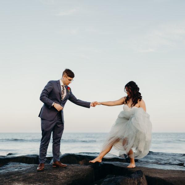 Tiffany + Stephen | Wedding Day | Asbury Park, NJ