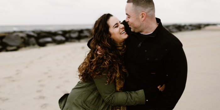 Olivia + Kevin | Engagement Shoot | Asbury Park, NJ