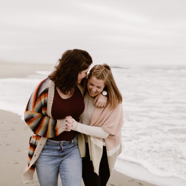 Sarah + Samantha | Engagement Shoot | Asbury Park, NJ