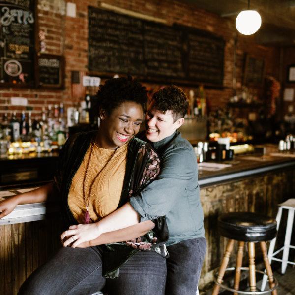 Sammy + Kim | Engagement Shoot | Philadelphia, PA