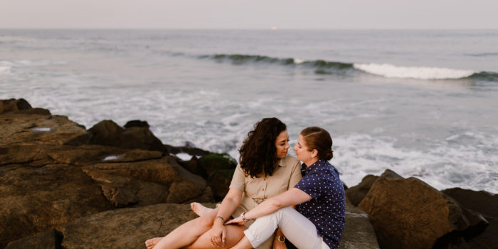 Vanessa + Sarah | Engagement Shoot | Asbury Park, NJ
