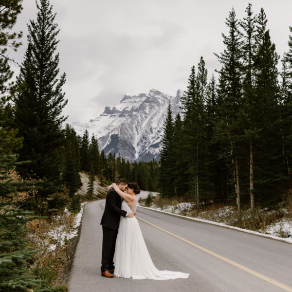 Shannon + Michael | Wedding Day | Banff, Canada