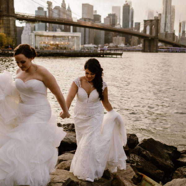 Kimberly + Sydney | Elopement | DUMBO, NYC