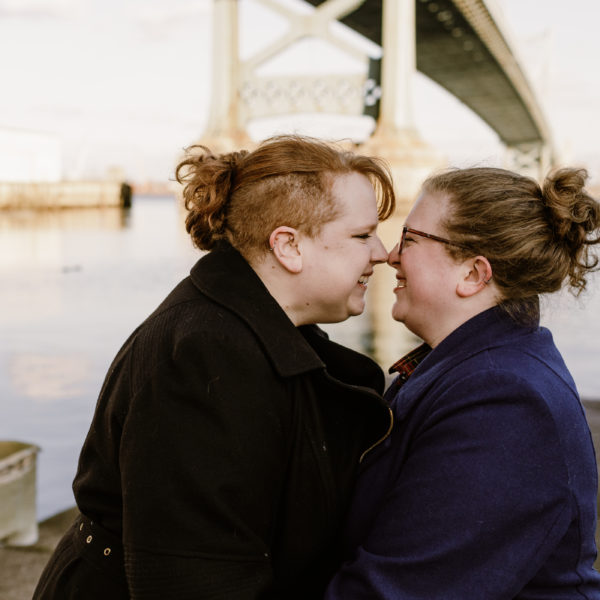 Kimmie + Christa | Engagement Shoot | Philadelphia, PA